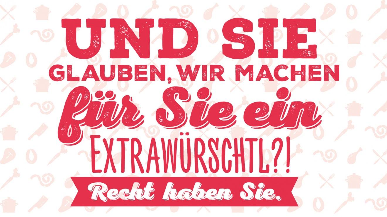 -Extrawürschtl Extrawurst